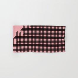 Gingham: Pink Hand & Bath Towel