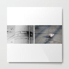 Acceso universal. Metal Print