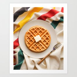 Breakfast in Bed Art Print