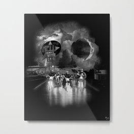Hell on Wheels Metal Print