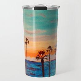 Pacific Sunset Travel Mug