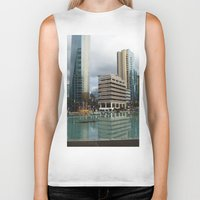 vancouver Biker Tanks featuring Vancouver by Chris Root