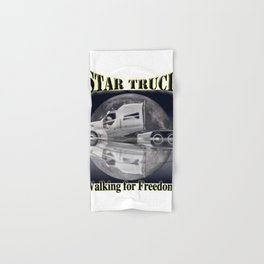Star Truck - The moon and the Truck Hand & Bath Towel