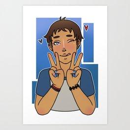 Peace Lion Art Print