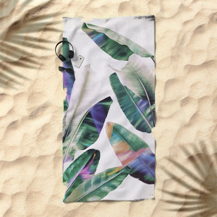 tropical #1 Beach Towel