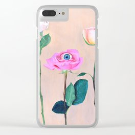Beauty is in the Eye Clear iPhone Case