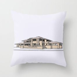 Darwin Martin House Throw Pillow