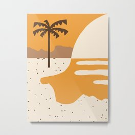 Tanned 2 Metal Print