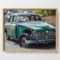 Smashed vintage car by brianvegas