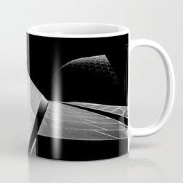 Sydney Opera House Sails Detail Mono Coffee Mug