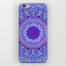 Wisteria Mandala iPhone & iPod Skin