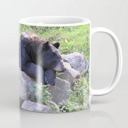 Contemplative Black Bear Coffee Mug