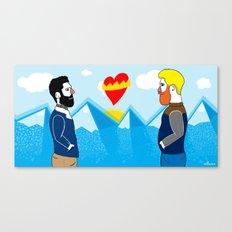 Hot Love  Canvas Print