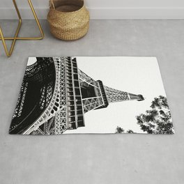 Eiffel Tower in Paris, France. Rug