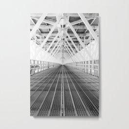 Steel underbelly Metal Print