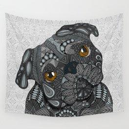 Black Pug 2016 Wall Tapestry