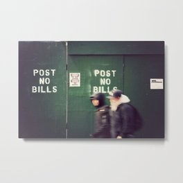 Bills Metal Print