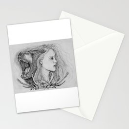 The Beast in me Stationery Cards