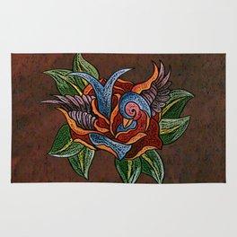 Sparrow Rose One Remix Rug