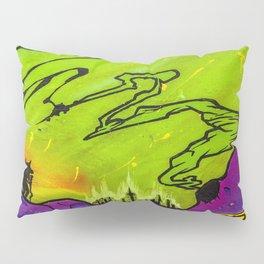 Buffalo Roaming Pillow Sham
