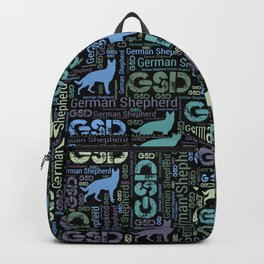 German Shepherd Dog - GSD Backpack