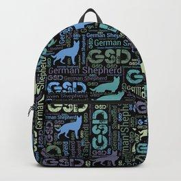 German Shepherd Dog - GSD Backpack