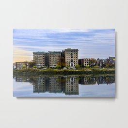 Reflective Moment Metal Print