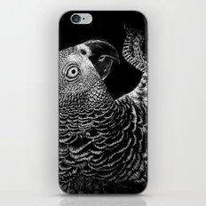 Hidden in the Canopy (Parrot) iPhone & iPod Skin