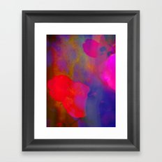 She Always Colored Outside the Lines Framed Art Print