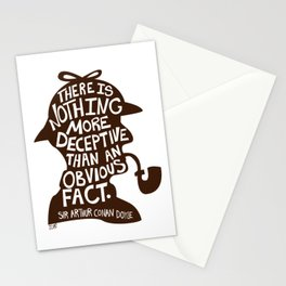 An Obvious Fact Stationery Cards