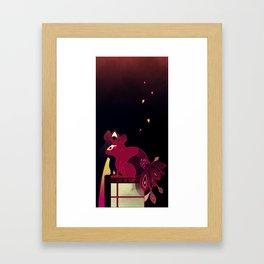 Kitsune no Kompanion Framed Art Print