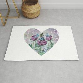Alice In Wonderland - Wonderland Garden - Heart Shape Rug