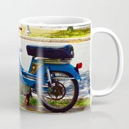 Bicycle Blue in the Green  Coffee Mug