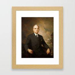 President Harry Truman Framed Art Print