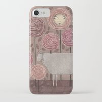 sleeping beauty iPhone & iPod Cases featuring Sleeping beauty by Judith Clay