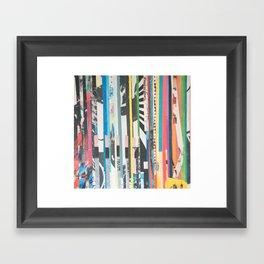 STRIPES 40 Framed Art Print