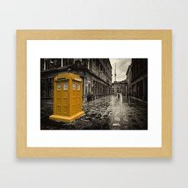 Amber Box  Framed Art Print