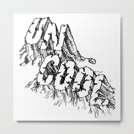UNCOOL Metal Print