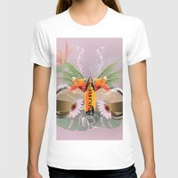 surfboard T-shirts featuring Surfing, sunglasses with surfboard  by nicky2342