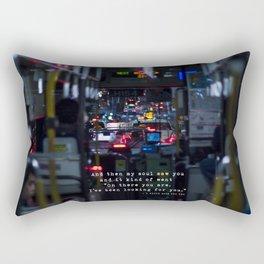 The Point Of Contact Rectangular Pillow