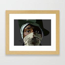 Mos Def the new danger Framed Art Print