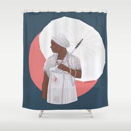Cuban Santera Shower Curtain