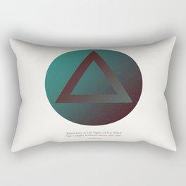 The Night of the Mind Rectangular Pillow