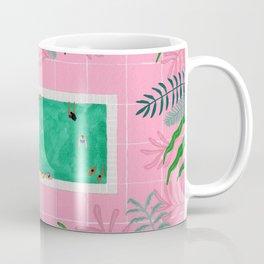 Pink riad pool Coffee Mug