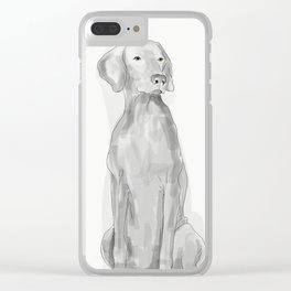 BE MINE VALENWEIM Clear iPhone Case
