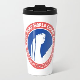 Fist Pump World Champ Travel Mug