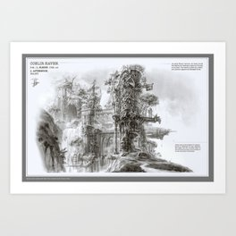 Coelir Haven Art Print