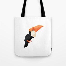 Origami Toucan Tote Bag