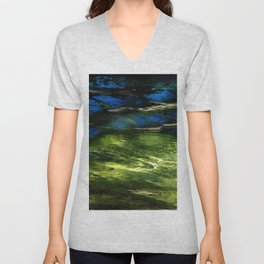 River Reflection Unisex V-Neck