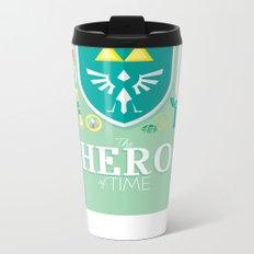 Hero of Time Metal Travel Mug